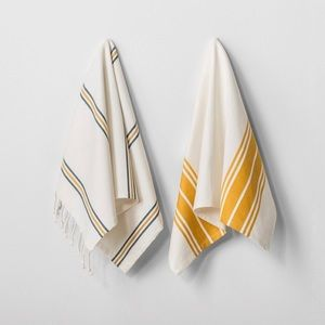 Hearth And Hand Magnolia Kitchen Towels Gold NEW